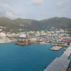 Tortola, British Virgin Islands - Coming into port