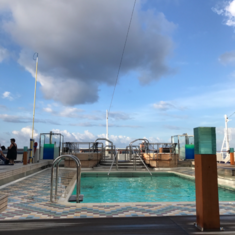Sea View Pool on Koningsdam