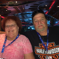 Cruising with my Brother & Sister-in-Law, Ted and Linda.
