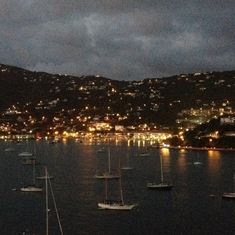Leaving our favorite Island of St. Thomas.