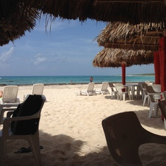 Beach at Cozumel