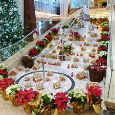 Grand Staircase with decorations