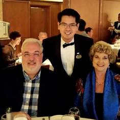 With William our head waiter