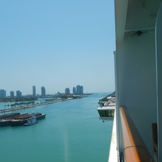 Miami, Florida - Another view leaving Miami