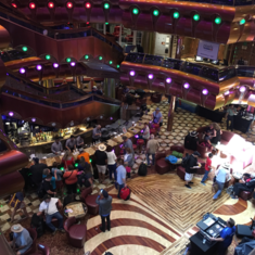 The Millennium Lobby & Atrium on Carnival Freedom