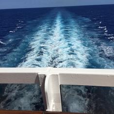 Nassau, Bahamas - Good bye!
