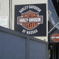 Nassau, Bahamas - Stopping at a Harley Store in every Port that has one is a MUST. lol