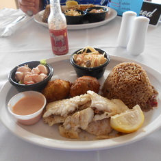 Lunch at Grand Turk