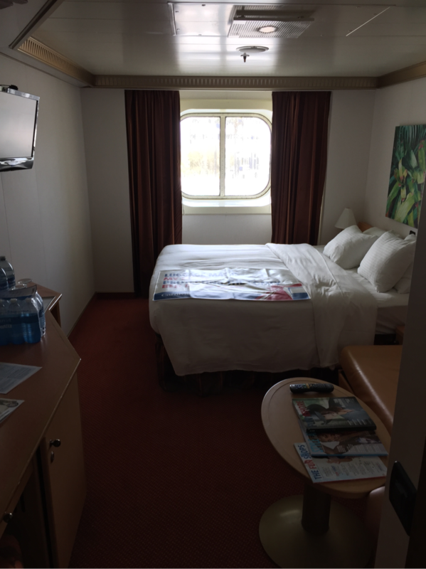 Oceanview Cabin 2230 On Carnival Magic Category 6y