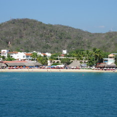 Huatulco from our balcony