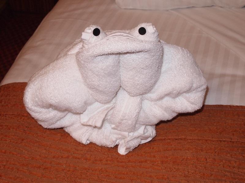 Towel Frog - Carnival Splendor