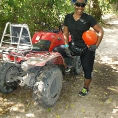 ATV excursion in cozumel