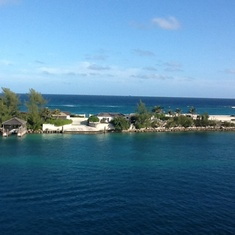 Nassau- view from our balcony