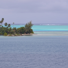 Bora Bora, French Polynesia - Pulling into Bora Bora