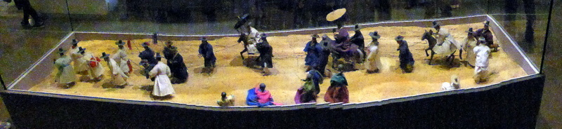Diorama at Folklore Museum