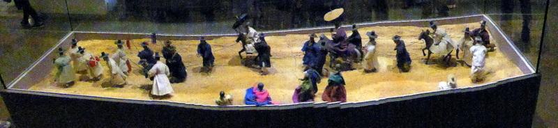 Incheon (Seoul). South Korea - Diorama at Folklore Museum