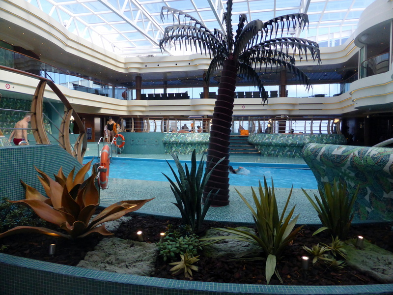 Another pool view - MSC Divina