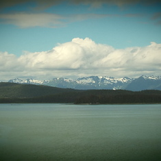 Cruise Inside Passage, Alaska - View from Deck 9