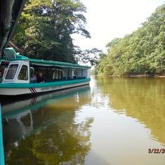 Tortuguero River, Costa Rica