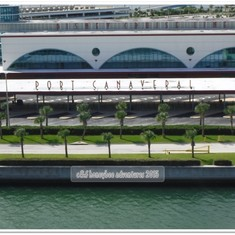 Port Canaveral, Florida - Port Canaveral sailaway