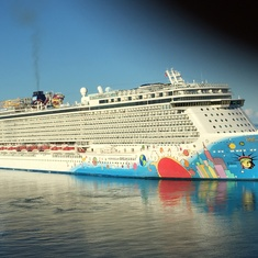 Norwegian Breakaway at Heritage Wharf