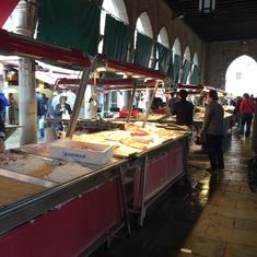 Mercato del Pesce Venice, Italy