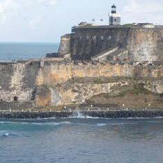 San Juan, Puerto Rico - Leaving San Juan