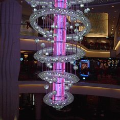 Chandelier Over the Manhattan Room #2