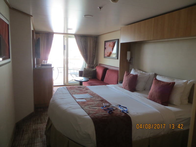 Deluxe Veranda Stateroom Obstructed View Cabin Category 2c Celebrity Reflection
