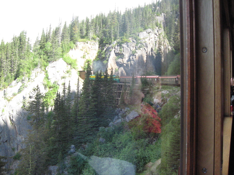 Skagway, Alaska - Skagway: White Pass and Yukon Railway tour to the summit is a must, do yourself