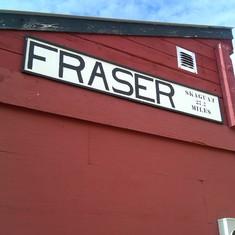 Skagway, Alaska - Fraser, Canada