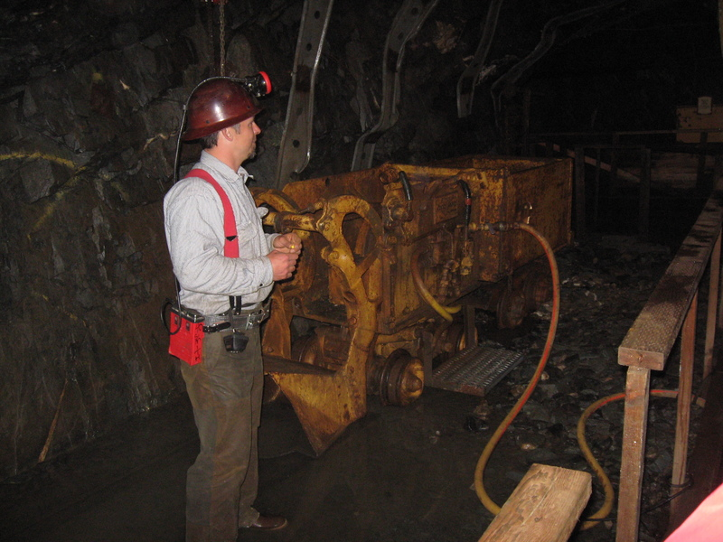 Take the underground gold mine tour at Juneau, a must, in my opinion.  - Seven Seas Navigator