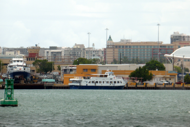 View from water taxi - San Juan - Carnival Liberty