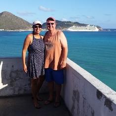 Indy in St. Maarten