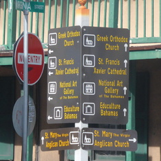 Sign Post Nassau