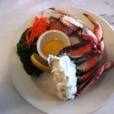 Ketchican crab feast