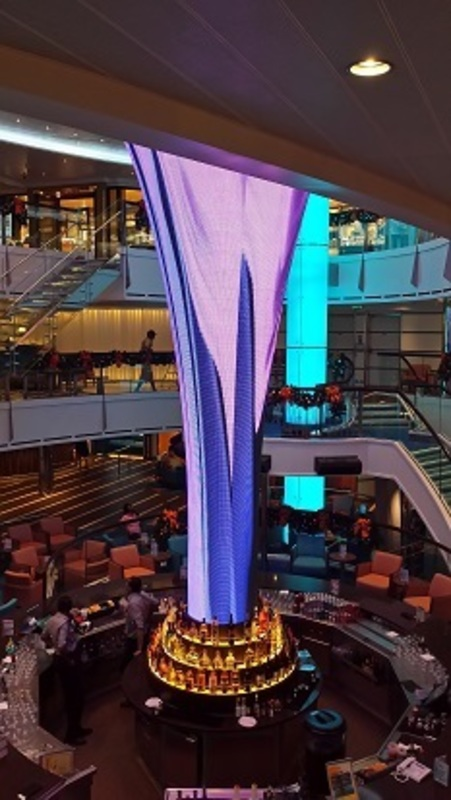 Photo of carnival vista cruise on nov 05 2016 atrium for Atrium design and decoration