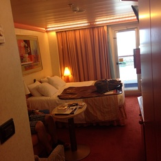 Carnival Glory balcony room
