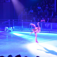 Nassau, Bahamas - On board entertainment included ice skating
