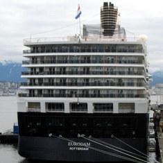 Eurodam in Vancouver