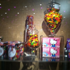 Candy shop, Carnival Splendor