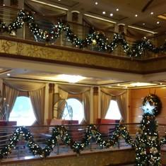 Lobby and Atrium Bar on Disney Magic