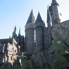 Hogwarts at universal studios islands of adventure