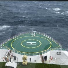 Celebrity Infinity - view of helipad