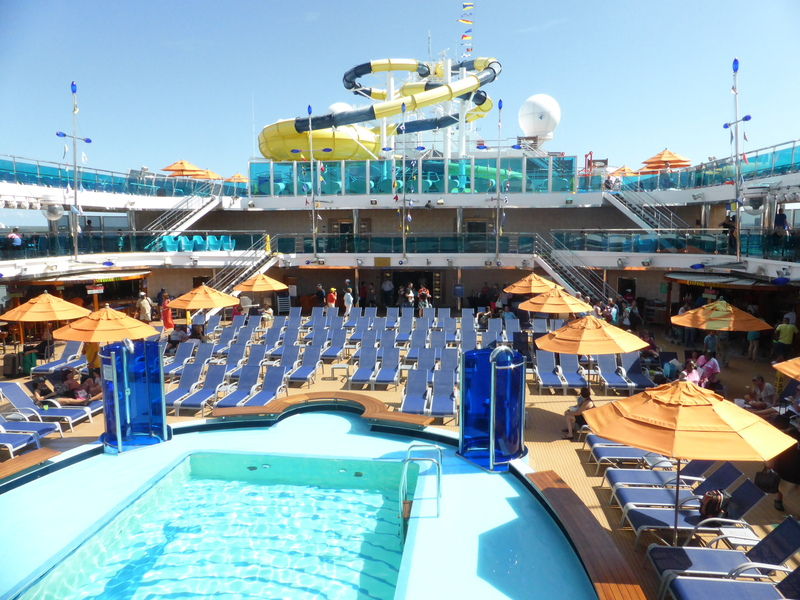 Pool & Water Slide - Carnival Dream