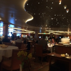 Caribbean Princess Island Dining Room
