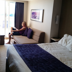 "Our ""Mini Suite"", very comfortable."