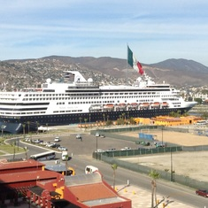 Ensenada, Mexico - Holland visiting