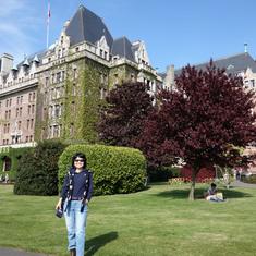 Empress Hotel in Victoria, B.C., May 2014