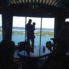 Nassau, Bahamas - Great view while you are eating